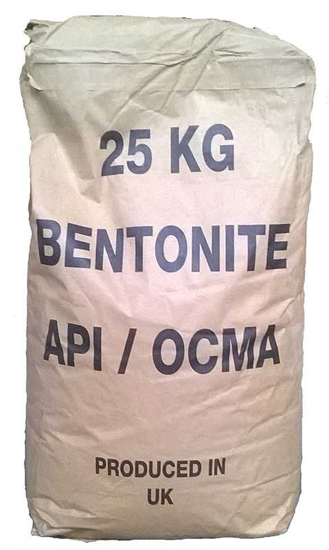 OCMA Grade Bentonite Powder