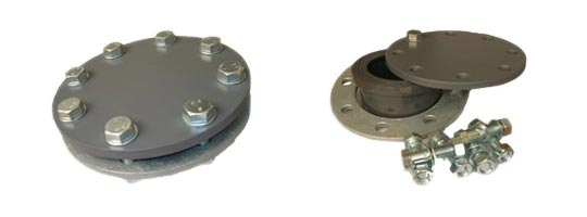 PVC Flanged Well Head Assembly
